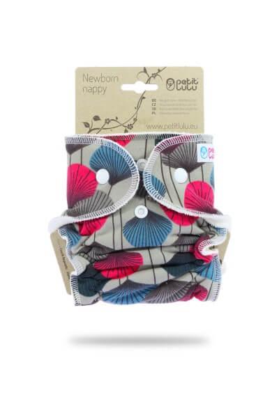 Petit Lulu Höschenwindel Newborn Design Ginkgo